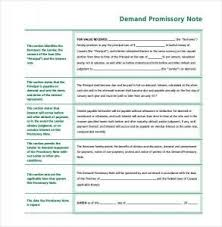 Simple Promissory Note No Interest | Template Business