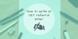 How To Write A Referral Letter How To Write An Oet Referral Letter Learn English For