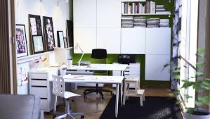 ikea office inspiration. home office with storage cabinets ikea inspiration i