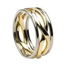 mens celtic knot wedding bands. mens 8.8 mm celtic knot wedding band with trim bands
