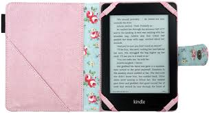 Designer Kindle Covers And Cases Amazon Kindle 4 Paperwhite Cover Case In Pink Roses Fabric