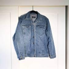 Light Blue Fitted Denim Jacket Light Blue Fitted Denim Jacket Depop