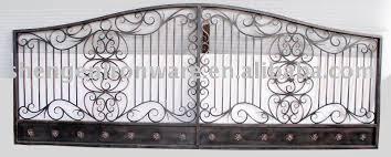 Ornamental Custom Metal Fence Gate Buy Iron FenceMetal Fence Gate