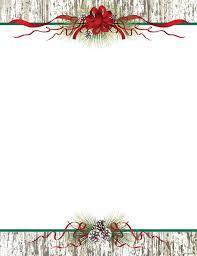Christmas Letter Red Snowman Free Christmas Letterhead Templates
