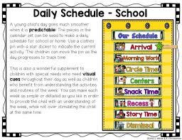 Make A Time Schedule Make Calendar Time Meaningful For Preschoolers Noah Home School
