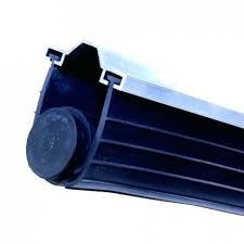 garage door seal types chi garage door bottom seal 6 vinyl weather for garage door bottom