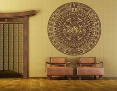 aztec calendar wall art