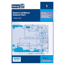 Chart D Imray Charts For The Caribbean Sea A B And D Series