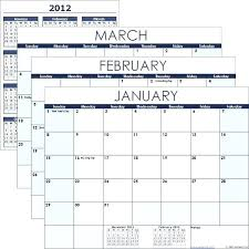 Calendar Template Microsoft Office A Simple To Use Free For Excel