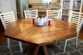 unusual dining furniture. Exciting Dining Room Furniture With Hardware Tables : Interesting Decoration Octagon Brown Unusual