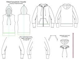 Fashion Sketch Templates Virtual Fashion Technology