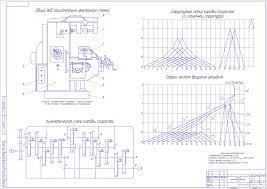Курсовые и дипломные работы станки токарные металлорежущие  Курсовой проект Спроектировать автоматическую коробку скоростей горизонтально фрезерного станка