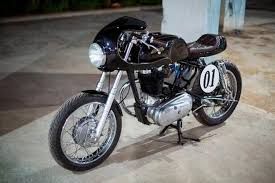 one look at this sleek cafe racer kit