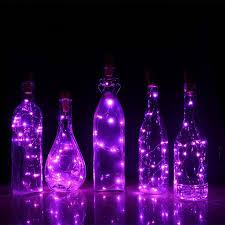 bottle lighting. Vintage Cork Bottle Lights Lighting