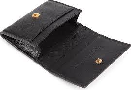 Alexander Mcqueen Skull Foldover Card Holder In Black For Men Lyst