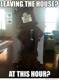 Judgmental Clock | WeKnowMemes via Relatably.com