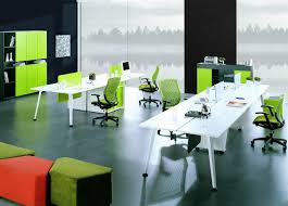 Contemporary Office Furniture Staff Desk Table New Design Modern Powder Coated Office Furniture