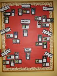 office bulletin board ideas pinterest. Unique Board Movie Credit Theme Staff Bulletin Board For After  To Display The Award  Winners In Office Board Ideas Pinterest Y