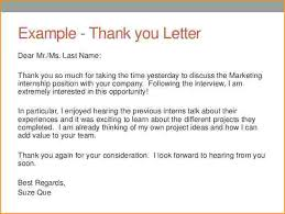 15 Writing A Thank You Letter For Interview Proposal Agenda