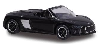 audi r8 convertible black. Exellent Convertible Audi R8 Spyder  Majorette Noir And Convertible Black 2