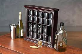 cabinet shot glass holder plans tabletop also for wall mount use shot glass rack