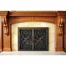 valencia rectangular fireplace door 2 ams fireplace inc and fireplace gate