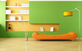 Orange Wall Paint Living Room Bedroom Kids Decorating Ideas For Boys With Blue Paint Colors And