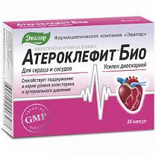 <b>Атероклефит БИО 30</b> шт для поддержания уровня холестерина ...