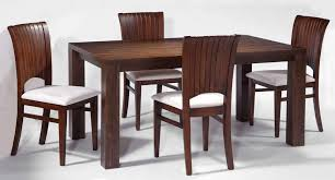 wooden dining furniture. Dining Room With Rectangular Solid Wood Table Set Chairs Wooden Furniture K