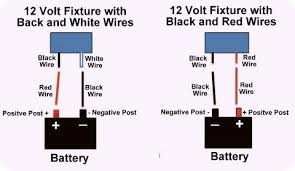 cheap rv living com basic 12 volt wiring how to install a led diagram showing which color wire to use