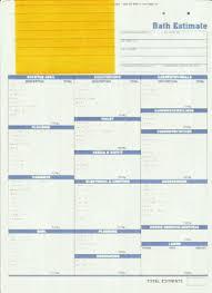 bathroom remodel checklist. Bathroom Remodel Estimate Checklist Remodeling Contractor Talk Us