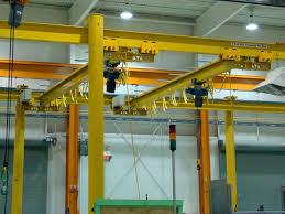 Monorail Crane Beam Design Enclosed Track Workstation Bridge Cranes Vs I Beam Overhead
