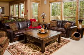 rustic leather living room furniture rustic living room sofa modern and rustic living room
