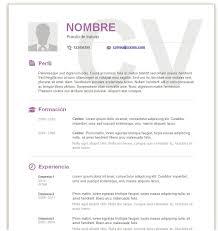 Modelo De Curriculum Vitae En Word Modelos De Curriculum Vitae En Word Para Completar