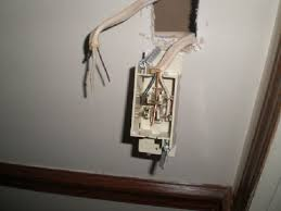 changing a light switch in a mobile home the home depot community how to wire a light switch diagram at Household Wiring Light Switches