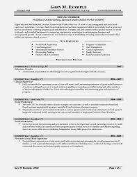 Good Sample Resume For Social Worker  Resume Template For Free