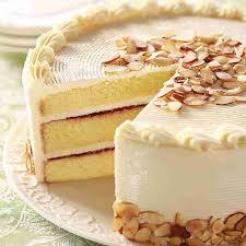 Gourmet Cakes line Raspberry Almond Cake