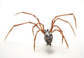 Wesley Fleming , glass sculptor - artwork, 'Zulu Spider'
