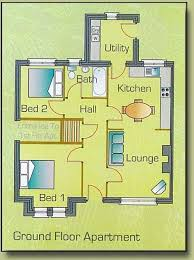 ... Two Bedroom Semi Detached House Plan New Plan For Ground Floor Two  Bedroom Semi Detached Apartments