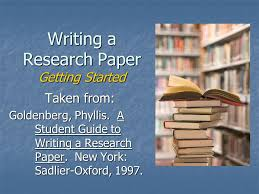 Writing Research Papers by James D  Lester  Jim D  Lester DH Welton