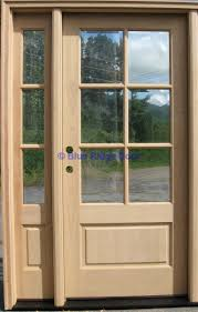 full image for cool front door with one sidelight 49 fiberglass front door with one sidelight