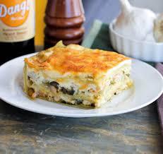 Seafood Enchilada Lasagna