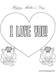 Small Picture Print trolls from frozen movie say i love you coloring pages