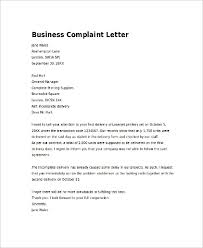 Letters Of Complaints Samples Complaint Letter Example 7 Samples In Word Pdf
