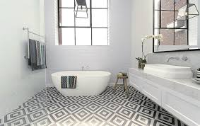 Bathroom Tile Floor Patterns Gorgeous Spraypaint Your Tiles For A New Look News48