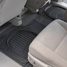 rubber floor mats car. Beautiful Floor Amazoncom Motor Trend 4pc Black Car Floor Mats Set Rubber Tortoise Liners  WCargo For Auto SUV Trucks  All Weather Heavy Duty Protection  Inside