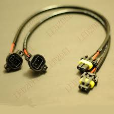 online buy whole cadillac wiring harness from cadillac 5202 h16 to 9006 hb4 wire harness ballast to sockets power cord cable for hid conversion