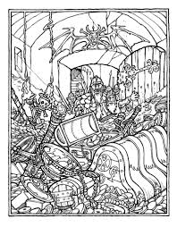 Advanced Disney Coloring Pages