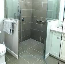 curbless shower systems shower pan article image systems liner curbless shower system canada curbless shower