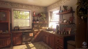 Cozy Kitchen Artstation Cozy Kitchen Breanne Millette